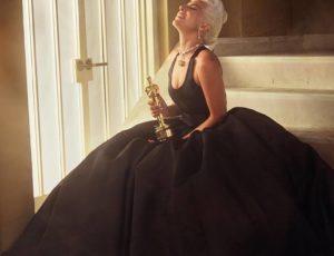 "Lady Gaga wins Oscar for Best Original Song, ""Shallow"""